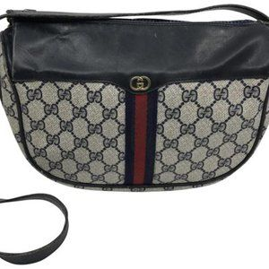 Gucci Vintage Multicolor Cross Body Bag